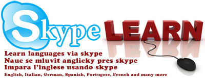 Learn languages using Skype